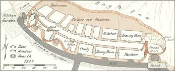 bag end hobbit hobbit hole and house layouts