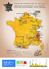 Map Of Tour De France by The Start Location Of The 12th Tour De France 2012 Stage In Saint