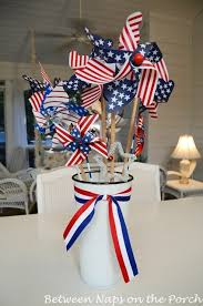 fourth of july decorations an easy centerpiece or table decoration the 4th of july