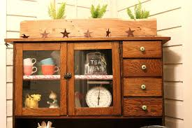 Transforming Kitchen Cabinets Transform An Antique Cabinet Into A Coffee Station Hometalk