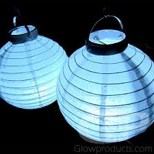 led lights for paper lanterns glowing paper lanterns with white led lights 8 inch glowproducts com