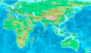 World Map Of Europe by Asia And Europe Map Roundtripticket Me
