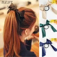 hair ribbons 2015 new brand designer headwear solid hair ribbons band rope
