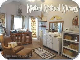 Diy Baby Nursery Decor by Neutral Natural Nursery Diy Decor Baby Elegant Earthy To