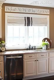 Kitchen Sink Window Treatments - window treatment over the sink kitchen curtains also love this