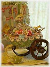 antique easter decorations 133 best easter chic and shabby images on easter ideas