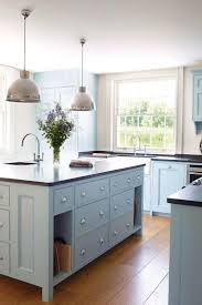 kitchens with different colored islands 54 great aesthetic powder blue kitchen cabinets different colour