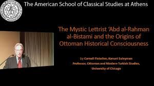 Ottoman Studies by The Mystic Lettrist U0027abd Al Rahman Al Bistami And The Origins Of