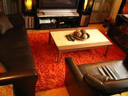 orange shag area rugs living room rugs 8 10 rugs u2013 manual 09