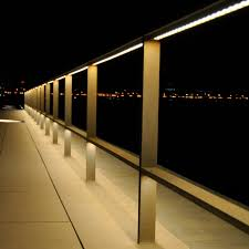 Landscape Lighting Cable by Stainless Steel Railing Bar Cable Outdoor Lighting Led