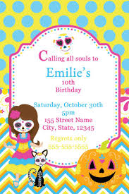 halloween birthday invite 29 best sugar skulls images on pinterest sugar skulls day of
