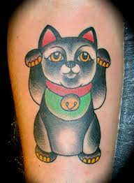 tattoo cat neko the world s most recently posted photos of luckycat and tattoo