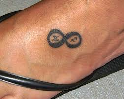 small simple themed infinity sign meaning on tattoomagz