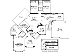 ranch floor plans with walkout basement l shaped ranch house floor plans unique 17 5 bedroom house plans
