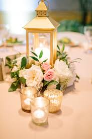 gold lantern centerpiece blush ivory u0026 gold centerpiece http