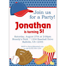 free printable baseball birthday party invitations football ticket