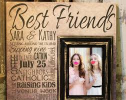 Personalized Wedding Photo Frame Best Friend Photo Frames 65000 Personalized Photo Frames
