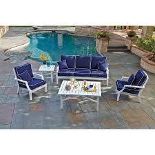 Blue Patio Furniture Sets - seating sets costco