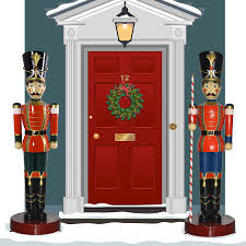 Giant Christmas Decorations Outdoor by Surprising Large Toy Soldier Christmas Decoration Best Life Sized