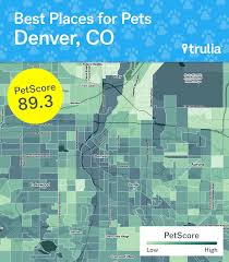 Trulia Map Denver Is The Most Pet Friendly Metro Area Says A New Study