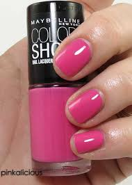 7 shades of maybelline color show nail polish beauty junkies