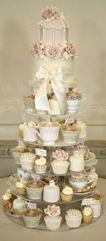 wedding cake and cupcakes wedding cake alternatives cupcake tower vintage inspired cupcake