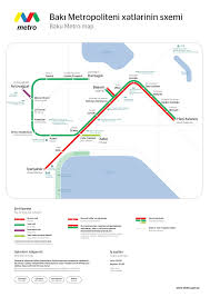 Metro 2033 Map by Baku Metro Wikipedia