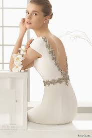 plain white wedding dresses picture of plain white wedding dress with cap sleeves and a