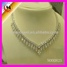 rhinestone necklace sets images American diamond necklace sets designs bridal rhinestone jewelry jpg