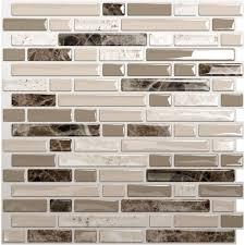Self Adhesive Wall Tiles Self Adhesive Backsplash Wall Tiles - Stick on backsplash for kitchen