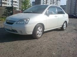 2001 suzuki aerio sedan pictures 1500cc gasoline ff manual