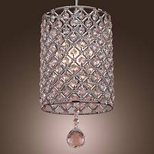 Pendant Lights For Living Room Pendant Light Modern Contemporary Chrome Feature For Crystal