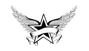 Nautical Star Tattoo Ideas Red Nautical Star And Stars Tattoos Design