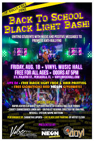 halloween city pensacola fl gallery night free back to black light bash tickets