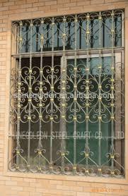 gyd 15wg023 high quality ornamental iron window grills design