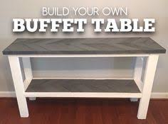 make your own buffet table how to transform your closet under 30 with items you already have