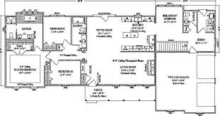 3 bedroom ranch house floor plans stoneham by wardcraft homes ranch floorplan