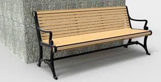 park bench new render autodesk online gallery