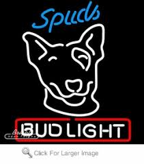 Bud Light Logo Bud Light Spuds Neon Sign Only 299 99 Signs B