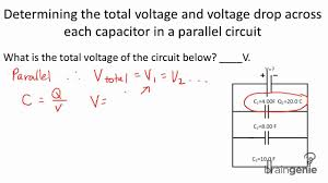 Parallel Circuit Problems Worksheet Component Voltage In A Parallel Circuit Physics 6 3 Determining