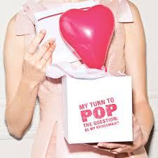 balloon in a box be my bridesmaid balloon in a box martha stewart weddings