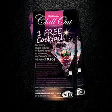modern upmarket flyer design for richard cottey by uk design