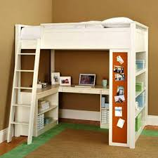 Kid Bed With Desk Outstanding Bunk Bed With Desk Room Solutions On