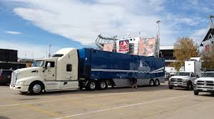 police truck trailer portion of stolen nfl production truck recovered police