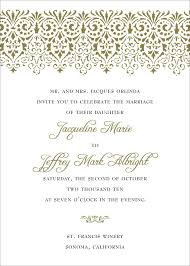 what to write on a wedding invitation luxury wedding invitation wording one set of parents hosting