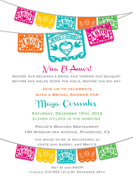 despedida invitation fiesta bridal shower invitations dhavalthakur com