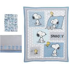 Snoopy Crib Bedding Bedtime Originals Peanuts Forever Snoopy 3 Crib Bedding Set