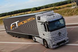 future mercedes truck without driver mercedes offers the first self driving truck