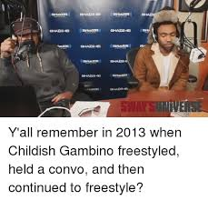 Best Meme 2013 - 25 best memes about childish gambino freestyling and