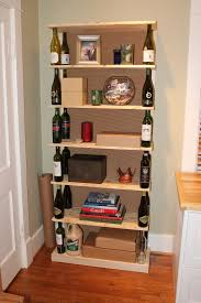 the fabulous blog of miss ginger grant wine bottle bookshelf